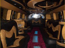 Another interior of limousine