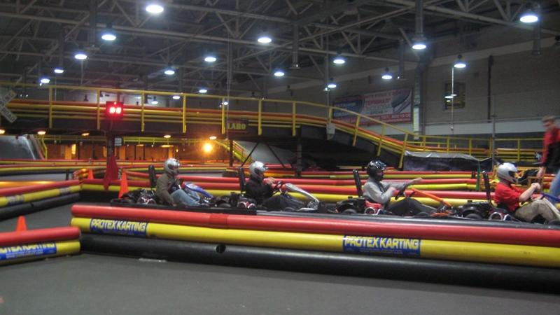 Go Karting Madness in Kiev