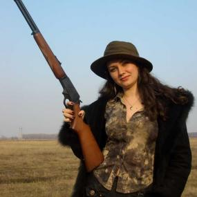 Clay Shooting near Kiev in Ukraine