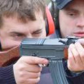 Kalashnikov and Pistol Shooting